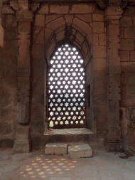 Nice windows in the Qutub Minar area